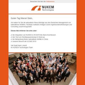 NUKEM - B2B Mailing