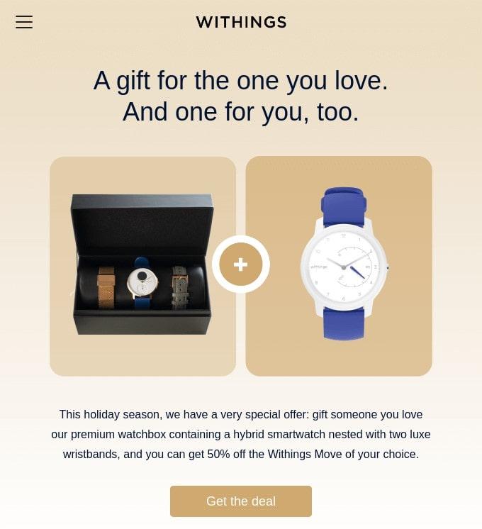 So planen Sie Ihre Weihnachts-E-Mail und gestalten die perfekte Weihnachtsvorlage