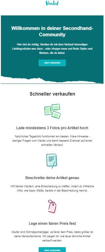Marketing Automation Workflow Beispiel Willkommens-Mailing