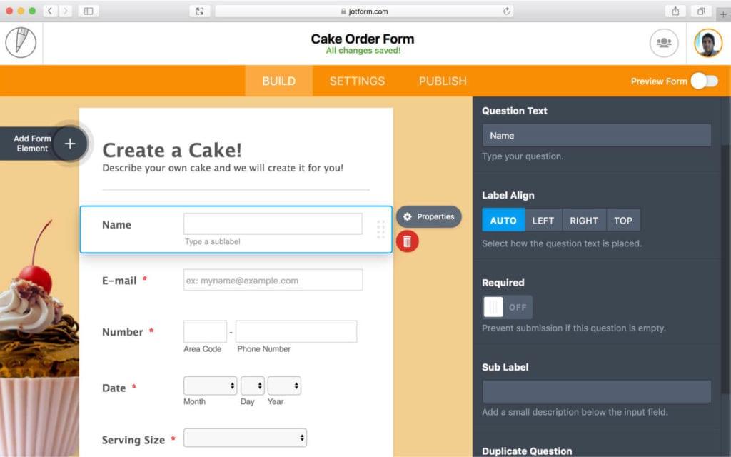 Online-Formulare erstellen mit JotForm