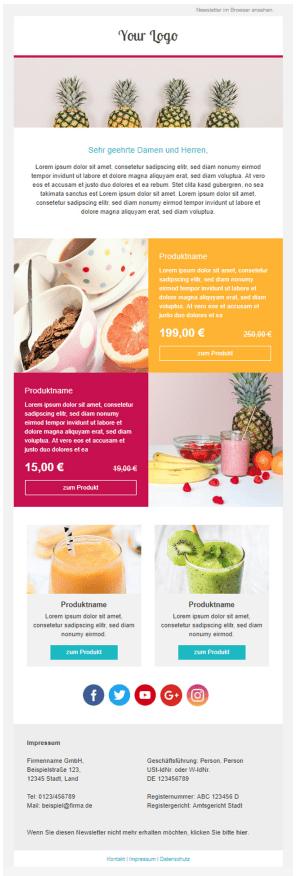 Shopify meets Sendinblue: 1-Klick-Produktübernahme