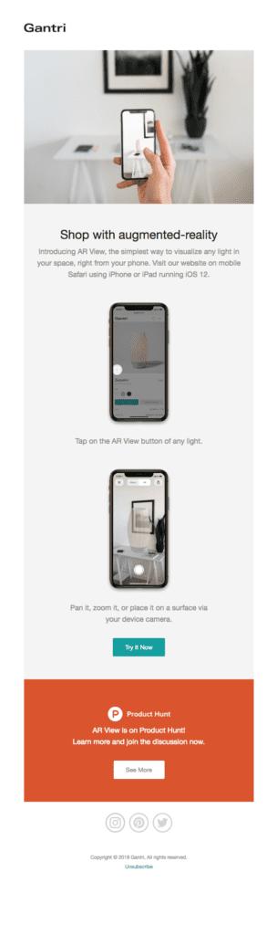 11 E-Commerce Trends. Augmented Reality: Das Produkt ins Wohnzimmer beamen